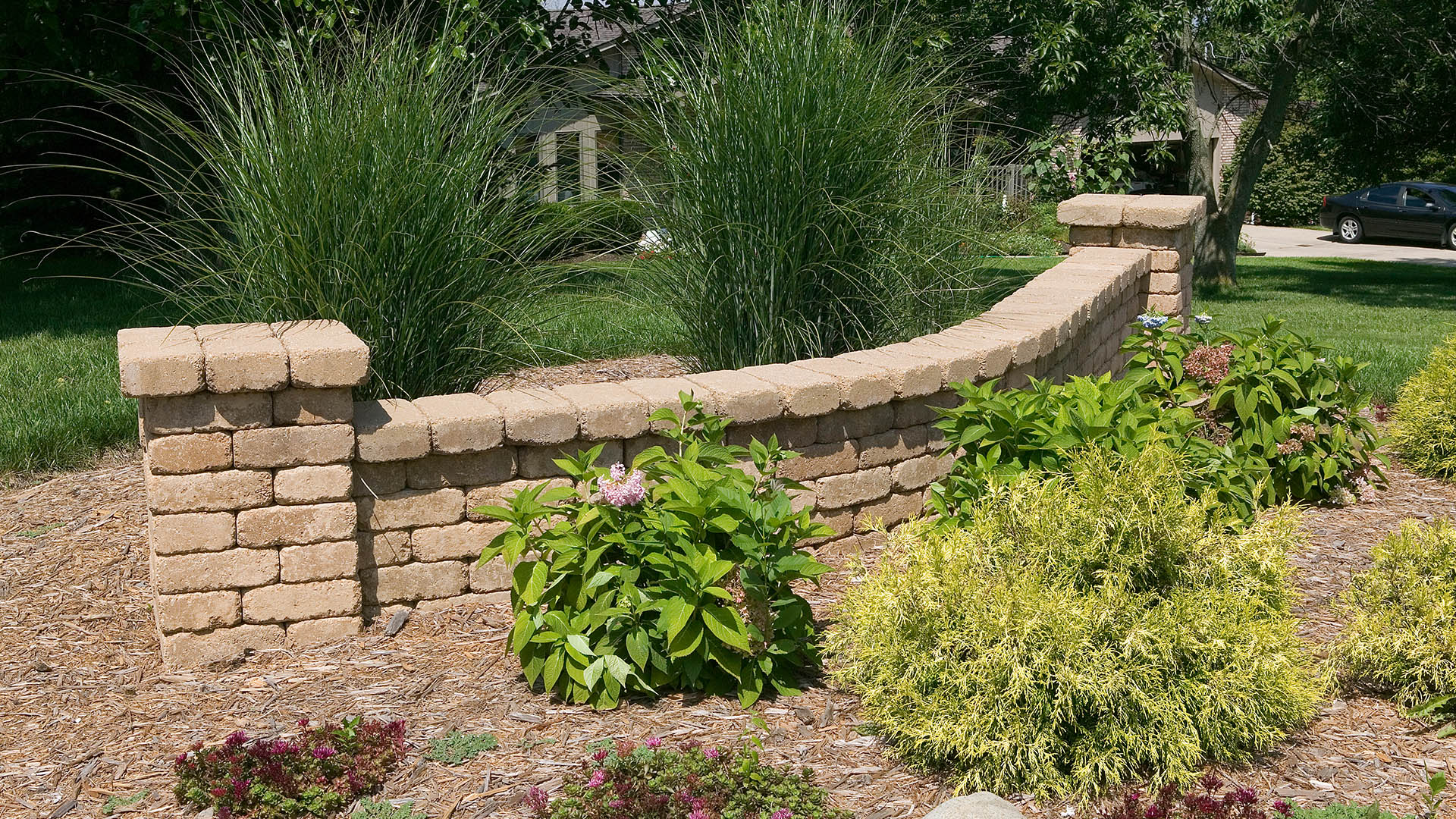 Premier Landscapes LLC Hardscapes, Retaining Walls and Walkways slide 3